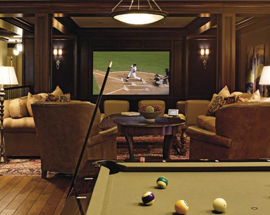 10 Modern and Contemporary Living Room Basement Designs | Best